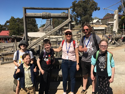 Kids Experience the Gold Rush