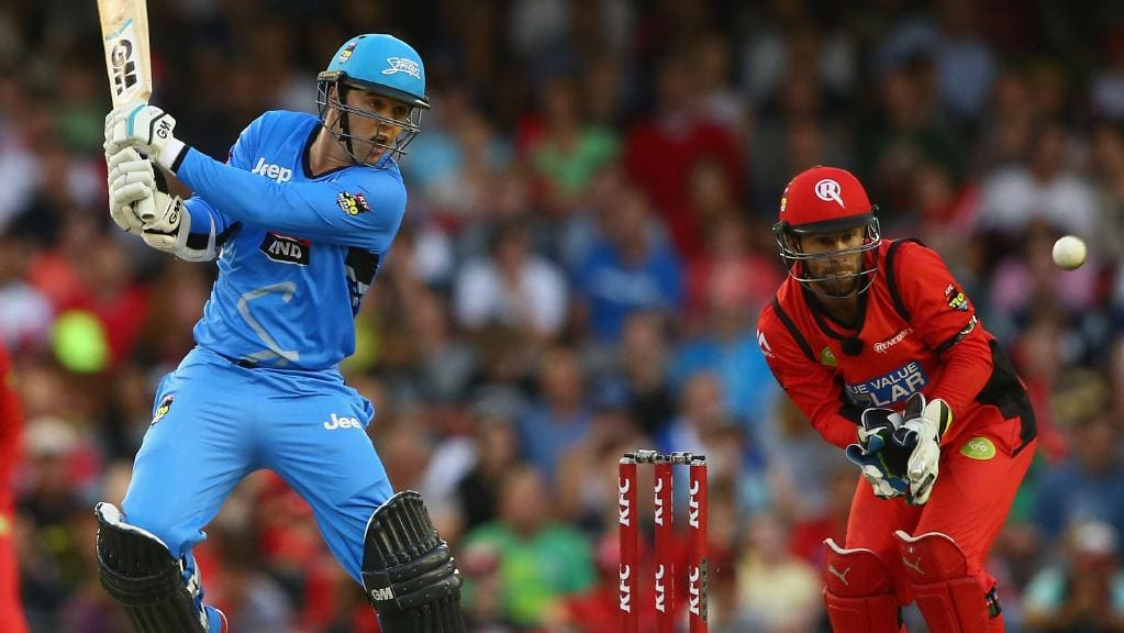 Big Bash T20 Cricket - Renegades vs Strikers