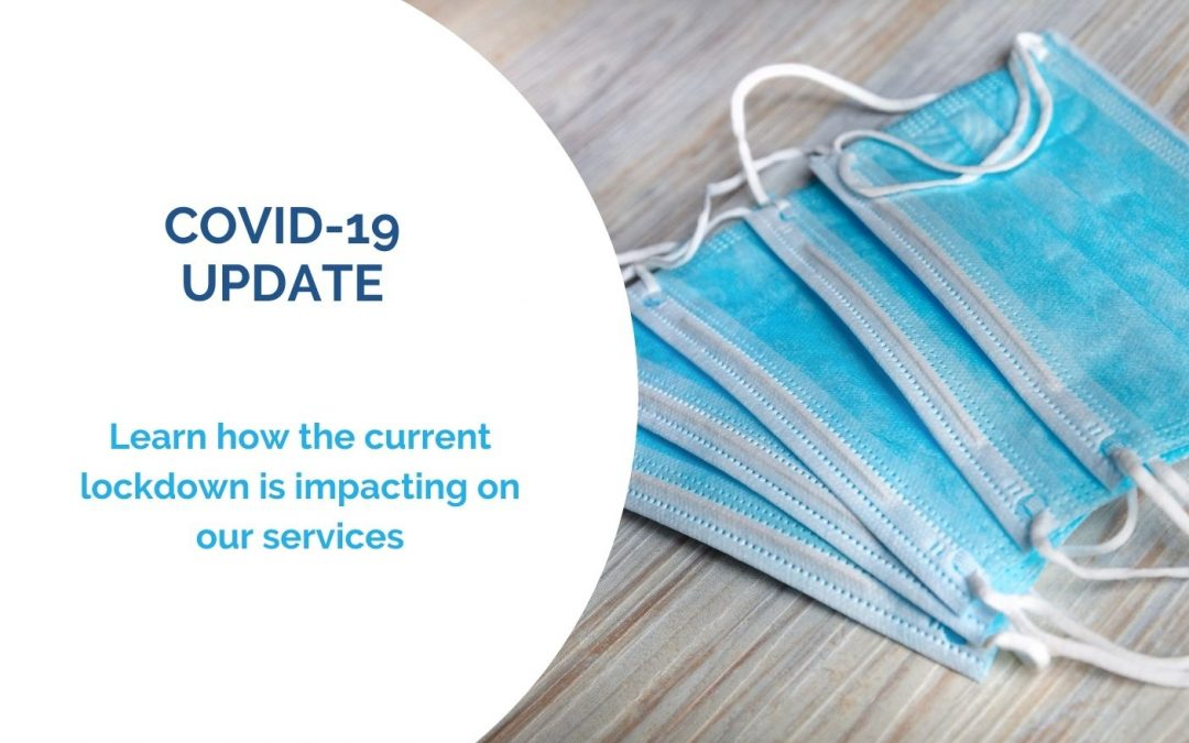 Covid-19 Update – Changes to our Services